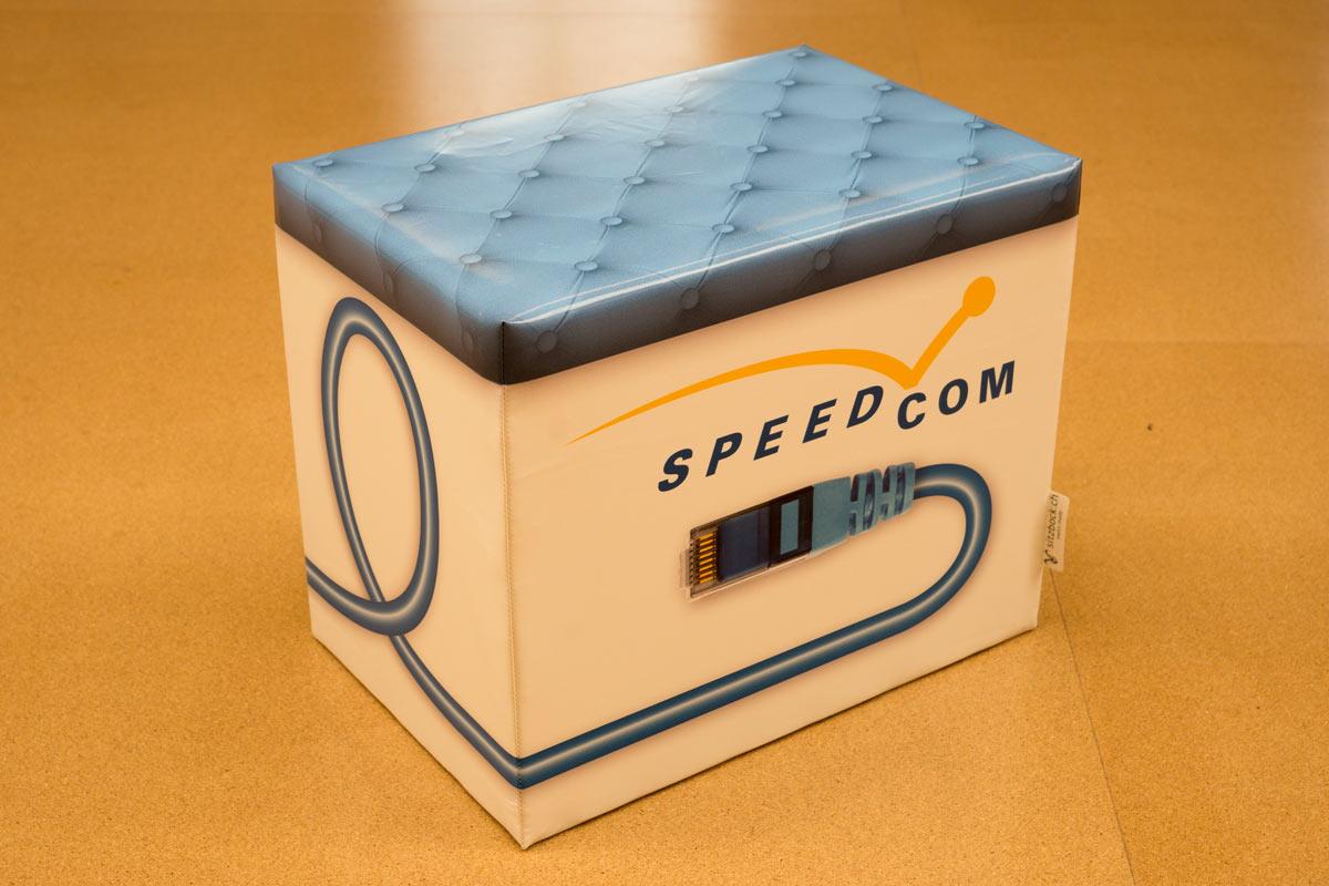 Werbeböckli, Speedcom