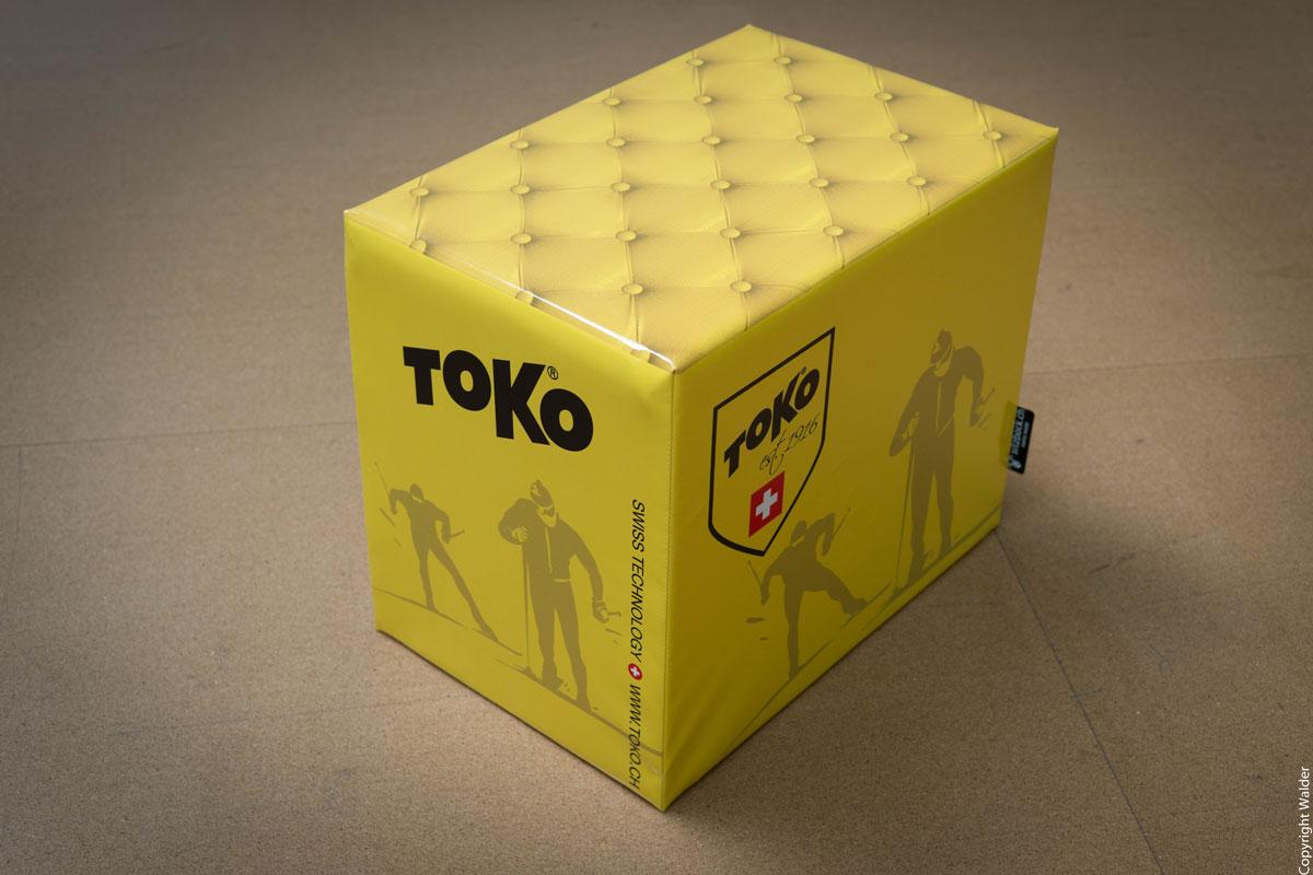 Werbeböckli, Toko